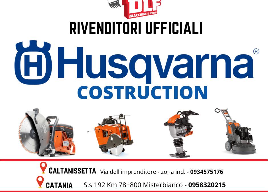 Attrezzatura Husqvarna Costruction, Dlf rivenditore ufficiale.
